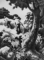 Июльский полдень (Т.Х. Бентон, 1943 г.)