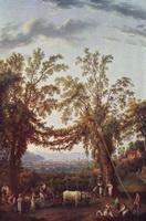 Осень: сбор винограда близ Сорренто