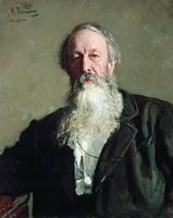 Портрет В. Стасова (И.Е. Репин)