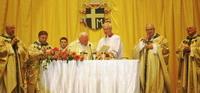 Литургия в Тбилиси (Служит Папа Римский Иоанн Павел Второй)