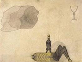 Мировая ось с кроликом (Август Наттерер)