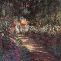 Сад в цвету. Моне Искусство