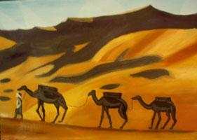 Вечер в Сахаре (Лариса Луканева)