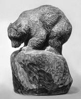 Медведь (В.А. Ватагин, 1956 г.)