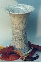 Керамическая ваза с кракле