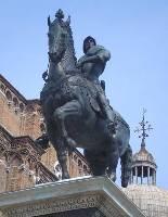 Памятник Коллеоне.Санти Джованни э Паоло