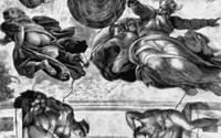 Сотворение светил (Микеланджело, плафон Сикстинской капеллы)