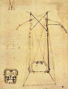 Орнитоптер с пружинным приводом