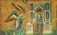 Мозаика в церкви Санта-Мария-ин-Трастевере в Риме. XIII в